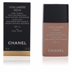 Foundation makeup VITALUMIÈRE AQUA teint parfait Chanel