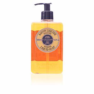 Hand soap KARITE savon liquide verveine L'Occitane
