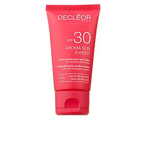 Faciais AROMA SUN EXPERT crème protectice anti-rides SPF30 Decléor