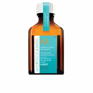 Shiny hair  treatment - Hair moisturizer treatment LIGHT oil treatment for fine & light colored hair Moroccanoil