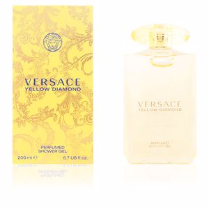 Bagno schiuma YELLOW DIAMOND perfumed shower gel Versace