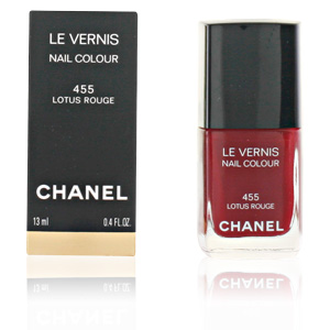LE VERNIS #455-lotus rouge 13 ml