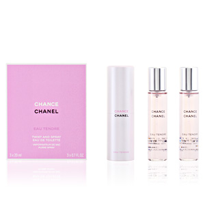 CHANCE EAU TENDRE edt vaporizador refill 3 x 20 ml