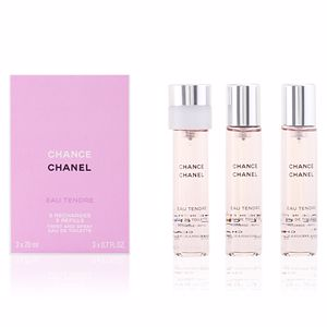 CHANCE EAU TENDRE edt vaporizador refill 3x 20 ml
