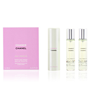 CHANCE EAU FRAICHE edt vaporizador twist&spray 3x20ml