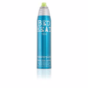 Hair styling product BED HEAD masterpiece massive shine hairspray Tigi
