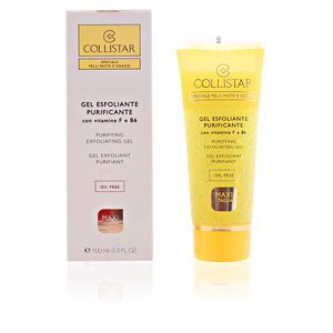 Face scrub - exfoliator PURIFYING exfoliating gel oil free Collistar