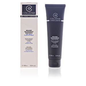 Facial cleanser LINEA UOMO moisturizing cleansing foam Collistar