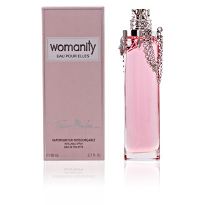 WOMANITY EAU POUR ELLES edt refillable vaporizador 80 ml