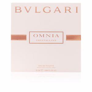 Bvlgari OMNIA CRYSTALLINE satin pouch perfume