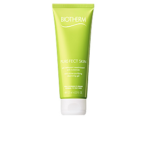Limpiador facial PUREFECT SKIN anti-shine purifiying cleansing gel Biotherm