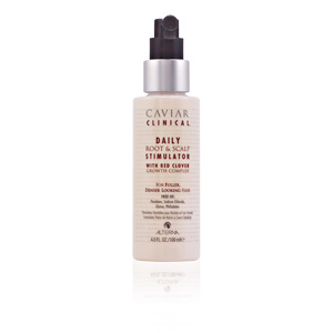 Haarausfall Behandlung CAVIAR CLINICAL root & scalp stimulator Alterna
