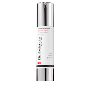 Face moisturizer VISIBLE DIFFERENCE oil-free lotion Elizabeth Arden