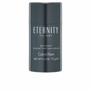 Desodorizantes ETERNITY FOR MEN deodorant stick alcohol free Calvin Klein