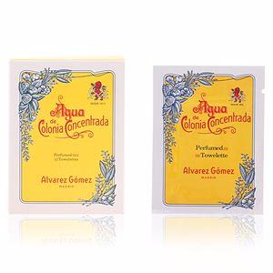 Lingettes humides AGUA DE COLONIA perfumed toweletes Alvarez Gomez