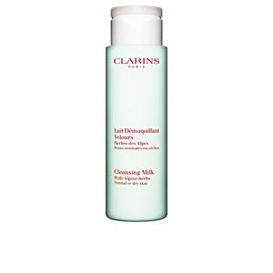 Cleansing milk LAIT DÉMAQUILLANT velours peaux normales ou sèches Clarins