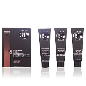 American Crew, PRECISION BLEND lote #4-5 medium natural