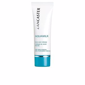 Soin du visage hydratant AQUAMILK rich day cream Lancaster