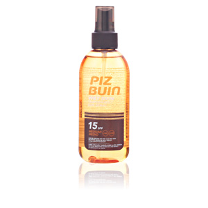Corporales WET SKIN transparent sun spray SPF15 Piz Buin