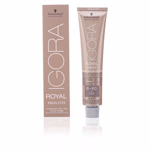 Haarverf IGORA ROYAL ABSOLUTES anti-age color creme #6-60 Schwarzkopf