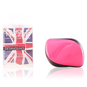 Hair brush COMPACT STYLER pink sizzle Tangle Teezer