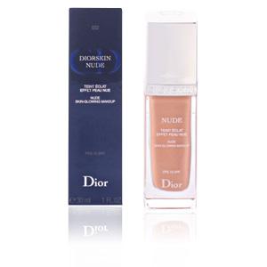 Foundation makeup DIORSKIN NUDE teint éclat effet peau nue Dior
