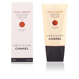 SOLEIL IDENTITE soin auto-bronzant visage SPF8-intense 50 ml