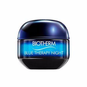 Anti blemish treatment cream BLUE THERAPY night cream Biotherm