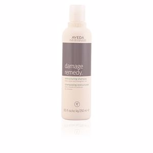 Shampoo for shiny hair - Hair loss shampoo DAMAGE REMEDY restructuring shampoo Aveda