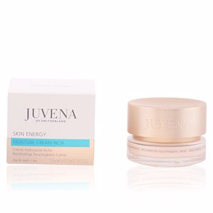 Face moisturizer - Flash effect - Antifatigue facial treatment SKIN ENERGY moisture cream rich Juvena