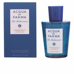 Gel de baño BLU MEDITERRANEO MANDORLO DI SICILIA pampering shower gel Acqua Di Parma