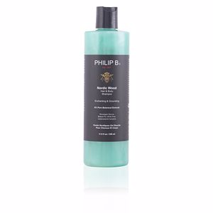 Champú hidratante NORDIC WOOD hair & body shampoo Philip B