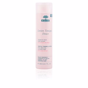 Face toner PETALES DE ROSE lotion tonique douce Nuxe
