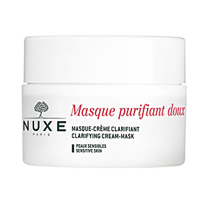 Face mask PETALES DE ROSE masque purifiant doux Nuxe