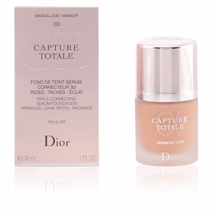 Foundation makeup CAPTURE TOTALE fond de teint sérum Dior