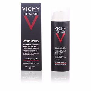 Antifatigue facial treatment VICHY HOMME hydra mag C+ visage et yeux Vichy Laboratoires