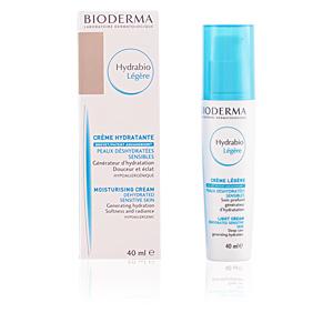 Face moisturizer HYDRABIO LÉGÈRE crème peaux déshydratées sensibles Bioderma