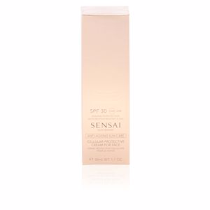 Visage SILKY BRONZE anti-ageing sun care for face SPF30 Kanebo Sensai