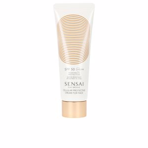 Faciales SILKY BRONZE anti-ageing sun care for face SPF50