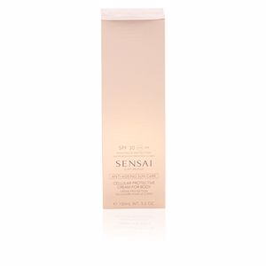 Body SILKY BRONZE anti-ageing sun care for body SPF30 Kanebo Sensai