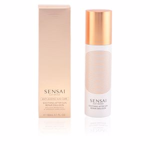 Body SILKY BRONZE anti-ageing sun care after sun emulsion Kanebo Sensai