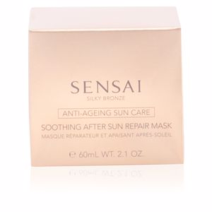 Gezicht SILKY BRONZE anti-ageing sun care after sun repair mask Kanebo Sensai