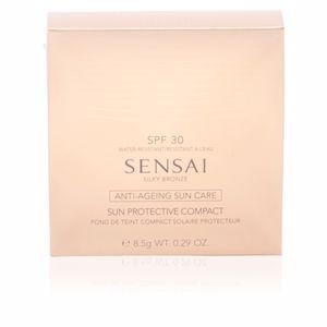 Bronzing powder SENSAI SILKY BRONZE sun protective compact SPF30 Kanebo Sensai