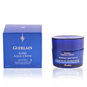Anti aging cream & anti wrinkle treatment SUPER AQUA-CRÈME baume nuit régénération intense Guerlain
