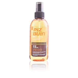 Body WET SKIN transparent sun spray SPF15 Piz Buin