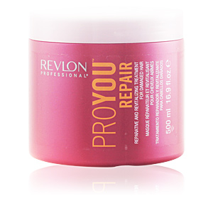 Hair mask for damaged hair PROYOU REPAIR reparative and revitalising treatment Revlon