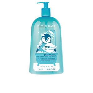 Shower gel ABCDERM moussant gel nettoyant doux bébés, enfants Bioderma