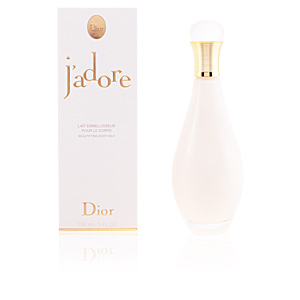 Body moisturiser J'ADORE beautifying body milk Dior