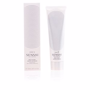 Limpiador facial SENSAI SILKY PURIFYING mud soap wash & mask Kanebo Sensai