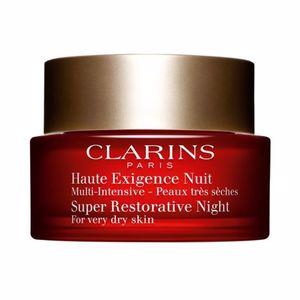 Cremas Antimanchas MULTI-INTENSIVE crème haute exigence nuit peaux très sèches Clarins